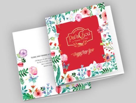 Pat'a Chou – Tet Brochure & Packaging 2017
