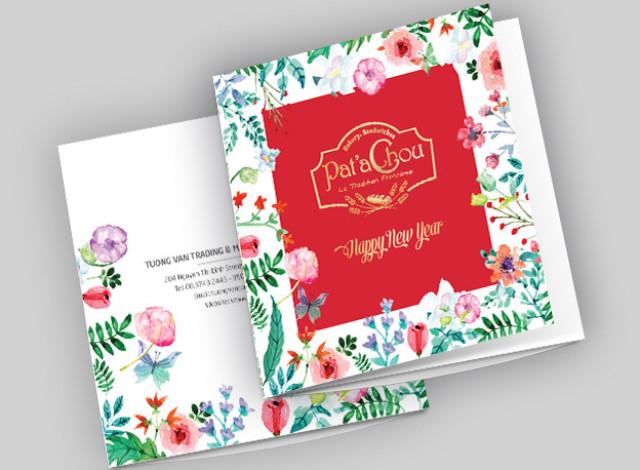 Pat'a Chou - Tet Brochure & Packaging 2017