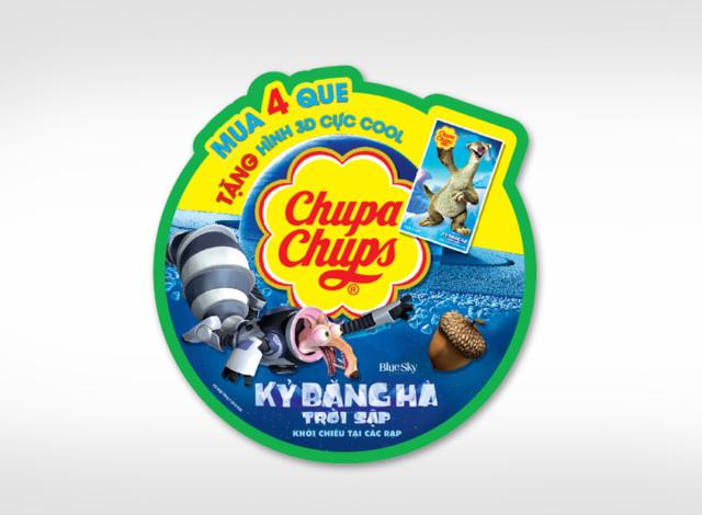 Campain Chupa Chups Kỷ Băng Hà