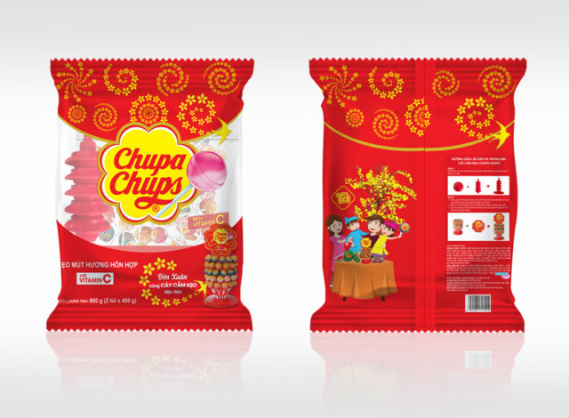 Chupa Chups Tet Packaging 2019