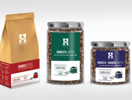Hong Viet Coffee Packaging